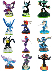 Female skylanders looking very female.